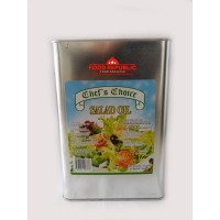 CHEF'S CHOICE SALAD OIL 3LTR / MINYAK KEDELAI / MINYAK SOYBEAN 100%