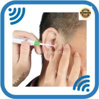 ORI Pembersih Telinga Flashlight Earpick / Korek Kuping Lampu LED -