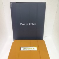 ORIGINAL IPAD 2 3 4 LEATHER SMART CASING STAND SOFT COVER CASE KULIT