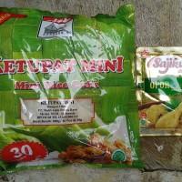 Paket Ketupat Mini Adabi Dan Bumbu Sajiku Nusantara Berperisa Opor