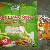 Paket Ketupat Mini Adabi Dan Bumbu Sajiku Nusantara Berperisa Gulai