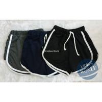Celana Pendek Wanita Hot Pants Sporty Santai ADEM BERKUALITAS TERMURAH