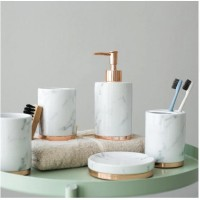 Premium Marble bathroom set