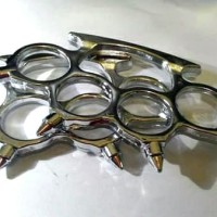 Brass knuckle sepasang silver spike duri gta pes 2016 uno stacko pc