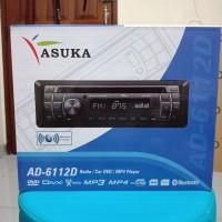 Single din asuka ad6112d - single dvd asuka - asuka bluetooth dvd