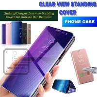 SAMSUNG GALAXY M20 CLEAR VIEW FLIP COVER CASE STANDING
