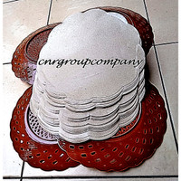GROSIR Kertas Makan Kertas Piring Alas Nasi Warung Warteg Besar 26 cm