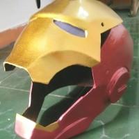 helm iron man dan BIMA dan Starwars