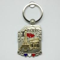 Souvenir gantungan kunci Paris oleh oleh Perancis cenderamata France