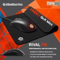 Steelseries Rival 110 FREE QcK Mini