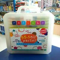 Crayon 55 warna Pascola