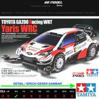 TAMIYA 18654 TOYOTA GAZOO RACING WRT YARIS WRC