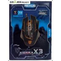 REXUS GAMING MOUSE XIERRA X3 - 7D MULTI LED COLOUR