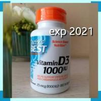 Doctor's Doctor Doctors Best Vitamin Vit D3 D 3 1000IU isi 180