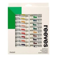 Reeves Acrylic Paint 24-colors