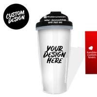 Tumbler botol minum custom / your design