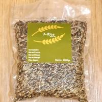 Beras Organik Mix 1kg (hitam, merah, coklat) + Chia seed