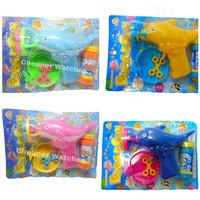 Mainan Pistol / Bubble Gun Lumba Gelembung Balon 6 Lubang