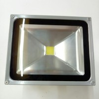Lampu sorot LED 30 watt RGB flood light warna putih 30w w tembak