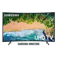 SAMSUNG UA49NU7300 49 INCH UHD 4K LED SMART TV CURVED - 49NU7300