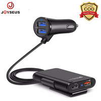 JOYSEUS 4 Ports QC3.0+2.4A+3.1A USB fast charge Car Charger - CM0005