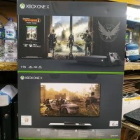 XBOX ONE X 1TB THE DIVISION