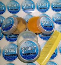 secret pomade waterbase 60gram 9aroma free sisir saku