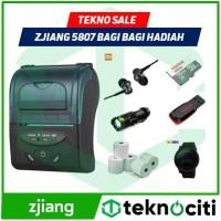 COD Now ZJIANG 5807 Mini Thermal Bluetooth Printer POS Kasir PPOB ZJ-5