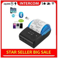 Zjiang 5805DD Mini Portable Bluetooth Thermal Printer POS ZJ-5805