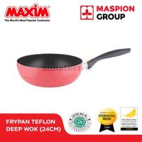 24 cm Teflon Non-Stick Coated Deep Wok MAXIM