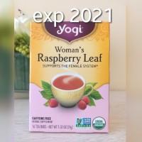 Yogi Tea Woman's Raspberry Leaf , Caffeine Free isi 16 Tea Bags