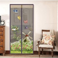 GR149 Tirai magnet pintu magnet Gorden Pintu Kamar Furniture Rumah