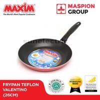 Wajan / Penggorengan (Fry Pan) Teflon 26 cm Maxim Valentino