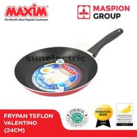 Wajan / Penggorengan (Fry Pan) Teflon 24 cm Maxim Valentino