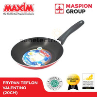 Wajan / Penggorengan (Fry Pan) Teflon 20 cm Maxim Valentino