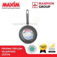 Wajan / Penggorengan (Fry Pan) Teflon 22 cm Maxim Valentino