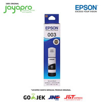 Tinta Epson 003 Original For L3110 L3150 L5190 L1110 - BLACK