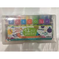 Crayon Oil Pastel 12 PASCOLA warna