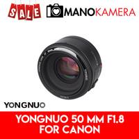 Lensa Fix Yongnuo YN 50mm f1.8 For Canon