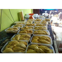 Durian kupas kwalitas super