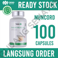 Tiens / Tianshi Muncord Cordyceps Capsule Isi 100 Kapsul