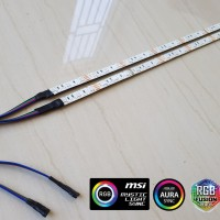 Led strip RGB 4pin for PC panjang 40cm