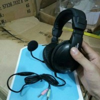 Headset gaming terbaru original headset game pc komputer headset keeni