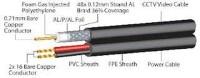 Kabel Coaxial CCTV RG59 + Power panjang 10 Meter ( Warn Limited