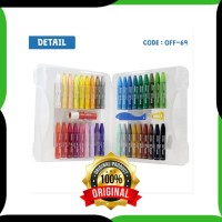 DISKON GREEBEL 36 WARNA Crayon Oil Pastel Set 36 Color Alat Kesenian