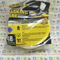 lakban kertas nachi 2 inch/ masking tape 48 mm