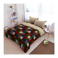 Kintakun Bed Cover D'luxe - 160 x 200 (Queen) - Sierra