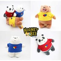 Original Miniso - Boneka We Bare Bears Festival Series Plush Doll ORI