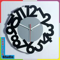 Jam Dinding Unik Akrilik 3D Your Style 01 Series