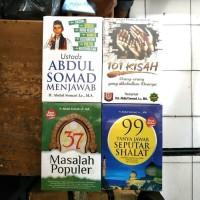 PAKET 4 BUKU ABDUL SOMAD 37 MASALAH 101 KISAH 99 TANYA JAWAB UAS MENJA